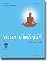 Yoga Mimamsa Cover